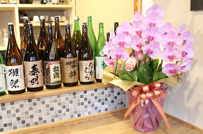 お祝いギフトに人気!胡蝶蘭は香りや花粉がほとんどない